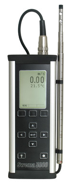 Swema 3000 measuring instrument for measuring of ventilation and environmental parameters inside a building 5706445560172