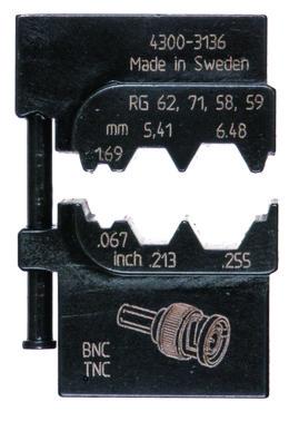 MOBILE-bakker OCC1113 ABIKO f/ koaxialkontakter 4301-313600