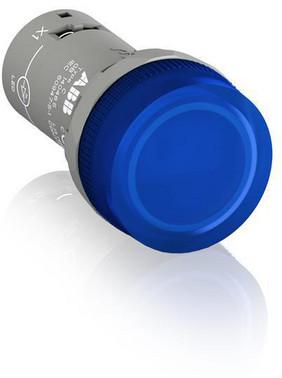 Blå lampe med integreret LED 220V DC CL2-520L 1SFA619403R5204
