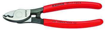 Knipex Cable Shears 95 11 65 A SB twin cutting edge 95 11 165 A SB