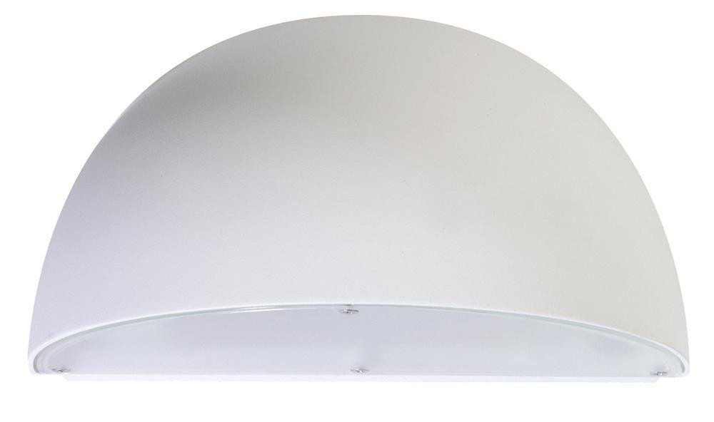 Duett Mat-Hvid 10W LED 2700K E27