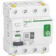 Acti9 RCCB HPFI afbryder 4P 40A 30mA klasse B-SI AC/DC til installationer med 3faset frekvensomformer og inverter med DC strømme 3322097099