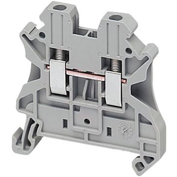 Linergy gennemgangsklemme 2,5mm², grå NSYTRV22