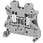 Linergy gennemgangsklemme 2,5mm², grå NSYTRV22 miniature