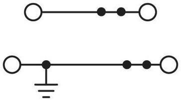 Gennemgangsklemme UTTB  4-PE/N 3046760