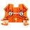 Gennemgangsklemme WDU 2,5 orange 102006 1020060000 miniature