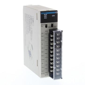 Analog udgangsenhed, 4xudgange 4 til 20mA, 1 til 5 V, 0 til 5 V, 0 til 10 V, -10 til 10 V, opløsning 12 bit, skrueklemmer CS1W-DA041 135612