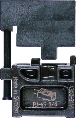 MOBILE-bakker OMP45 ABIKO f/ modular stik RJ45 4301-314400