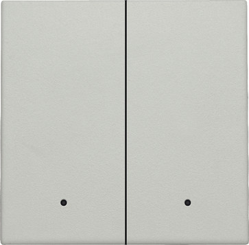 Tangent til smart 2-tryk med linse, light grey 102-32004