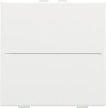 Tangent til 2-tryk, trådløs, white coated 154-00001