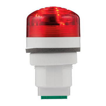 Advarselslampe med LED og multifunktion 12/24V Rød, P40, A, LED, 24 91183