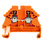 Gennemgangsklemme WDU 1,5 orange 102376 1023760000 miniature