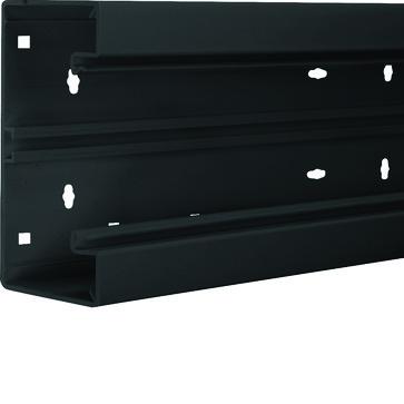 Installationskanalbund BR65130 i plast 68x130mm RAL 9011 BR6513019011
