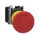Harmony nødstop komplet med Ø40 mm paddehoved i rød farve med tryk/drej funktion og 2xNC, XB5AS8444 7517907754