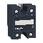 Solid state relæ for bundmontage nulvoltskoblende 300VAC 1F 50A 3-32VDC forsyning påmonteret kølepasta SSP1A150BDT miniature