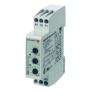 Tidsrelæ Multifunktionstimere 24VDC & 24-240VAC 1-polet 01s-100t Byggebredde: 175 mm DMB51CM24