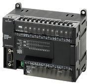 PLC, 100-240 VAC forsyning, 36x24VDC input, 24xrelæudgange 2A, 8K trin program + 8K-ord datalager, RS-232C port CP1E-N60DR-A 333293