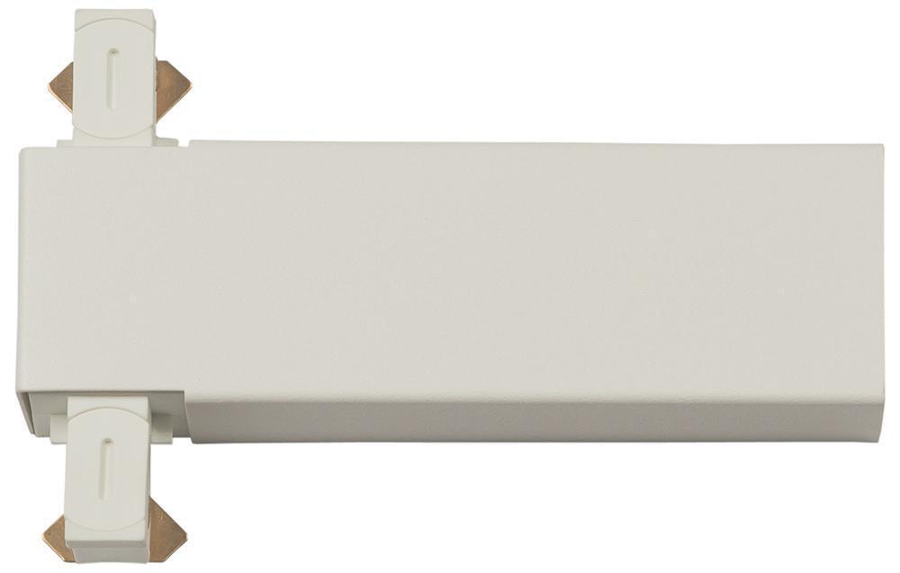 Zip T-tilkobling Mat-Hvid