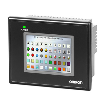 Touch screen HMI, 3,5 tommer QVGA (320x240 pixel), TFT farve NB3Q-TW00B 392036