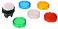 Harmony signallampehoved i plast for LED med linser i 5 forskellige farver ZB5AV003 miniature