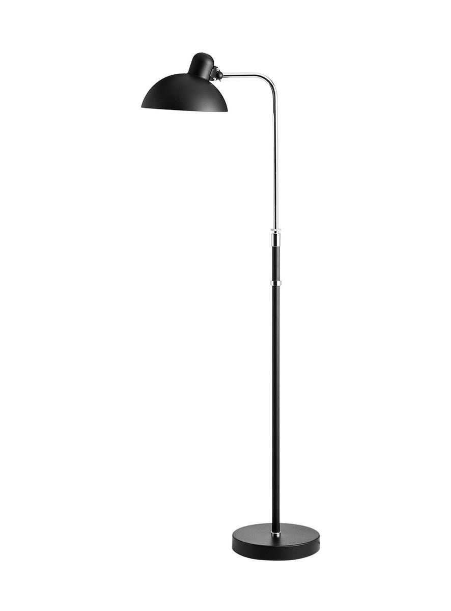 Kaiser idell 6580-F Matt Black Gulvlampe