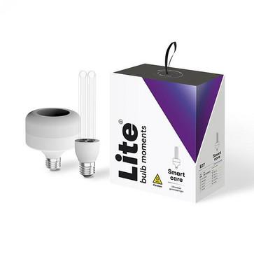 Lite Bulb Moments Smart Care UVC lampe E27 LED base og E27 UVC lyskilde NSL001UVC