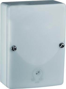 Minilux skumringsrelæ, 3-300 lux, IP54, 230 V AC, 16 A relæ 41-048