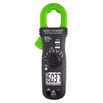 Elma BM037 sand RMS AC/DC tangamperemeter 0 - 600A AC/DC med temperaturmåling 5706445410422