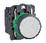 Harmony trykknap komplet med fjeder-retur og plan trykflade i hvid farve 1xNO, XB5AA11 XB5AA11 miniature