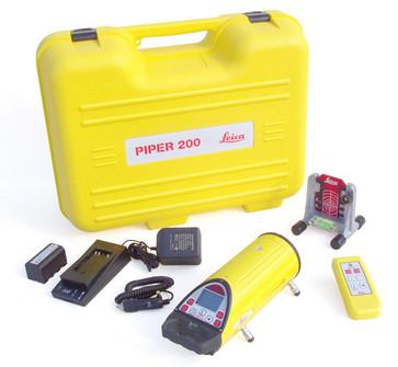 Leica Piper 200 Rørlægningslaser komplet 7640110693940
