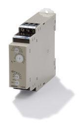 Timer, DIN-skinne montage, 22,5mm, stjerne-delta-forsinkelse, 1-120s, DPDT, 5A, 240 til 440 VAC H3DK-GEAC240-440 352023
