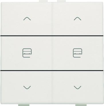 Motortryk dobbelt, white, NHC 101-51036