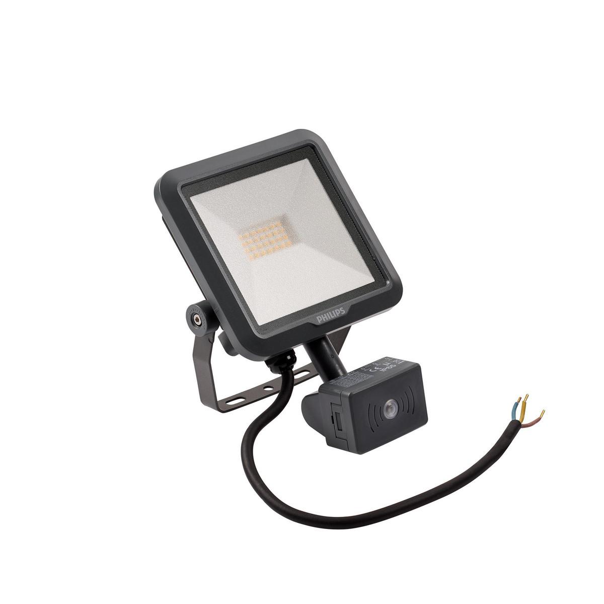 Philips Ledinaire Projektør Mini BVP105 LED 900lm/840Bredstrålende med PIR-sensor