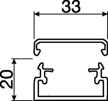 Kabelkanal komplet LF 20035 PH LF20035PH