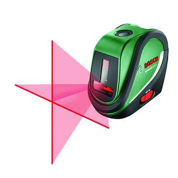 Green Bosch Cross and line laserUniversalLevel 2 0603663800