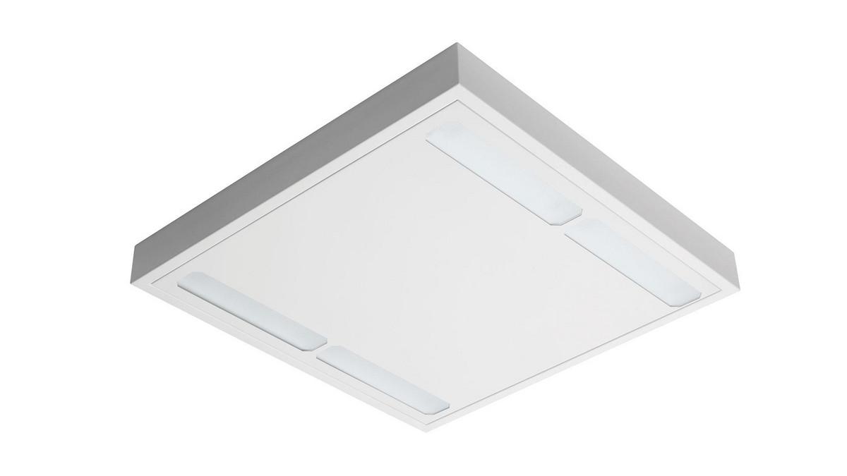 Freyn II OMS 4100lm/31W/830 LED Dali 600x600 nedhængt/påbyg mikroprismatisk hvid