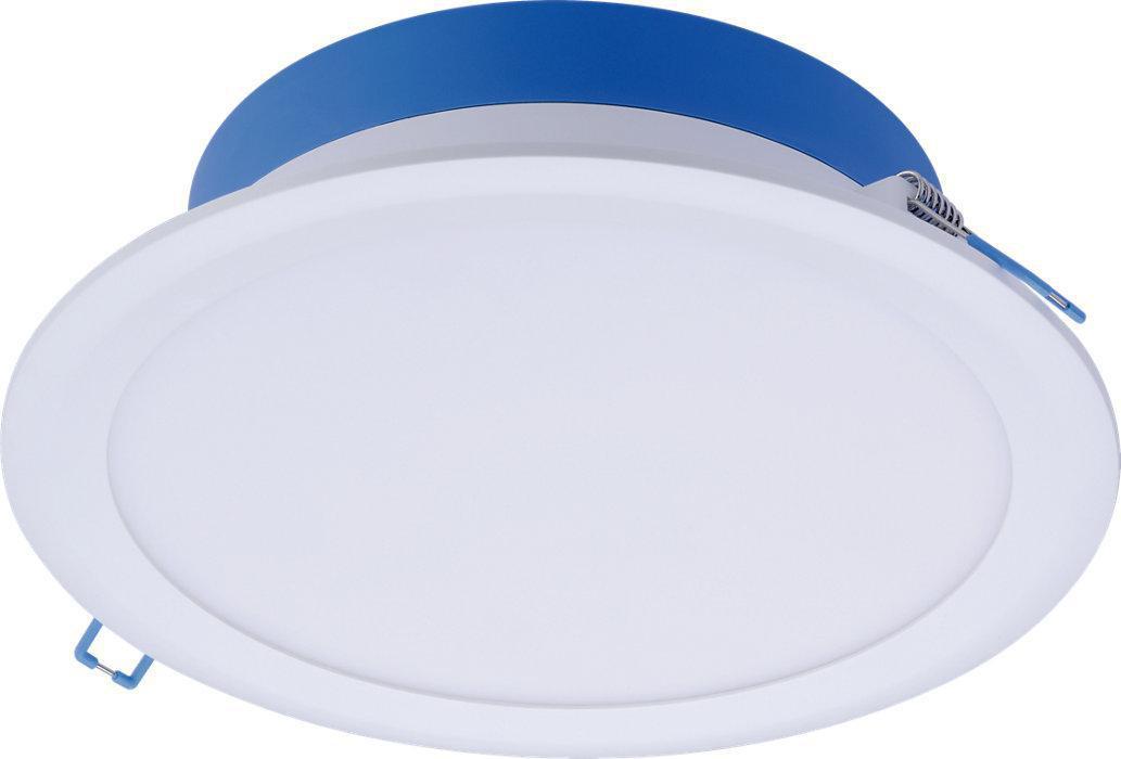 Philips Ledinaire Downlight DN029B 2000lm 3000K/4300K/6500K 3-farve dip switch 24W Hvid optik Ø200mm