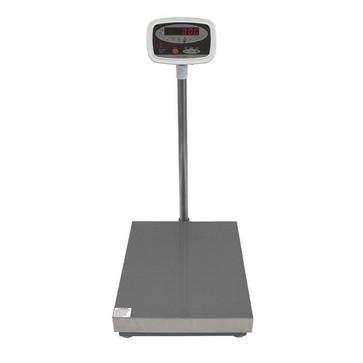 Gulvvægt 60 kg / inddeling 10 g med LED display og 560x458 mm vejeplade 18562415