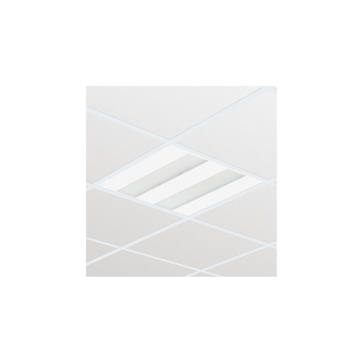 Philips FlexBlend Indbyg RC340B 3600lm/930 60x60 Synlig T-skinne PCS-optik SpaceWise