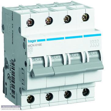 Automatsikring 3P+N 40A B kar MBN640E