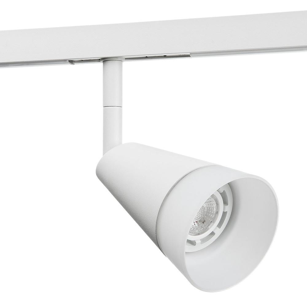 Zip Glas Spot Mat-Hvid 6W LED 2700K