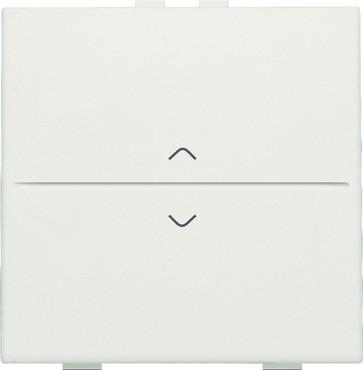 Tangent med pil symboler til 2-tryk, white 101-00004