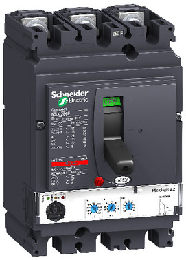 Maksimalafbryder NSX250N+MIC2.2/250 3P LV431870