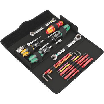 Wera værktøjssæt VVS Kraftform Kompakt SH 2 15dele 05136026001