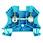 Gennemgangsklemme WDU 6 blå 102028 1020280000 miniature