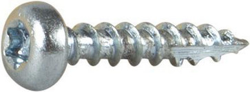 Wood Screw Full Thread Pan Head 127105