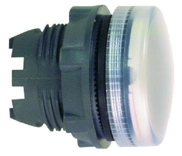 Harmony signallampehoved i plast for LED med riflede linser  i 5 forskellige farver ZB5AV003S