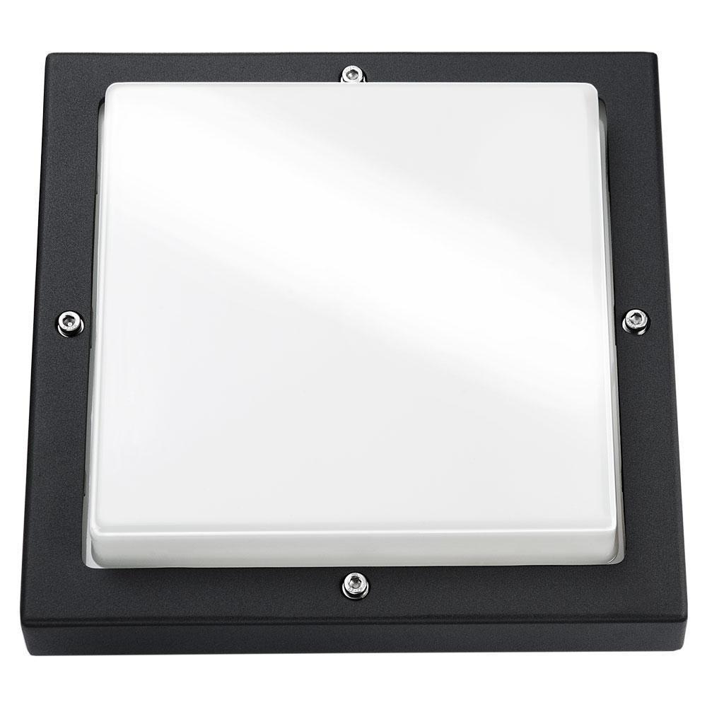 Bassi Mat-Sort 10W LED 3000K m/skumring