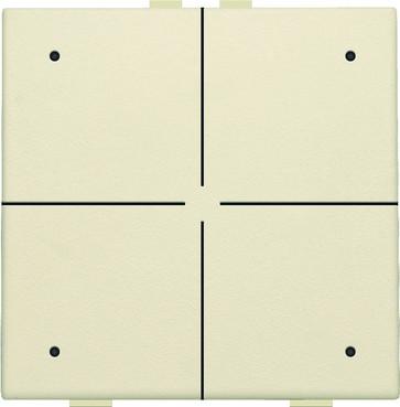 4-tryk med LED, cream, NHC 100-52004