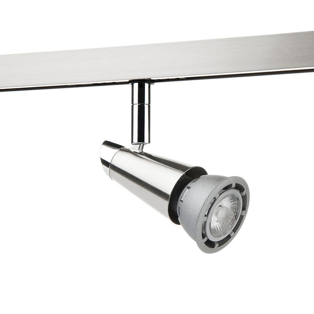 Zip Spot Børstet stål 6W LED 2700K